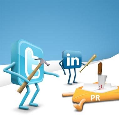 social media kill PR